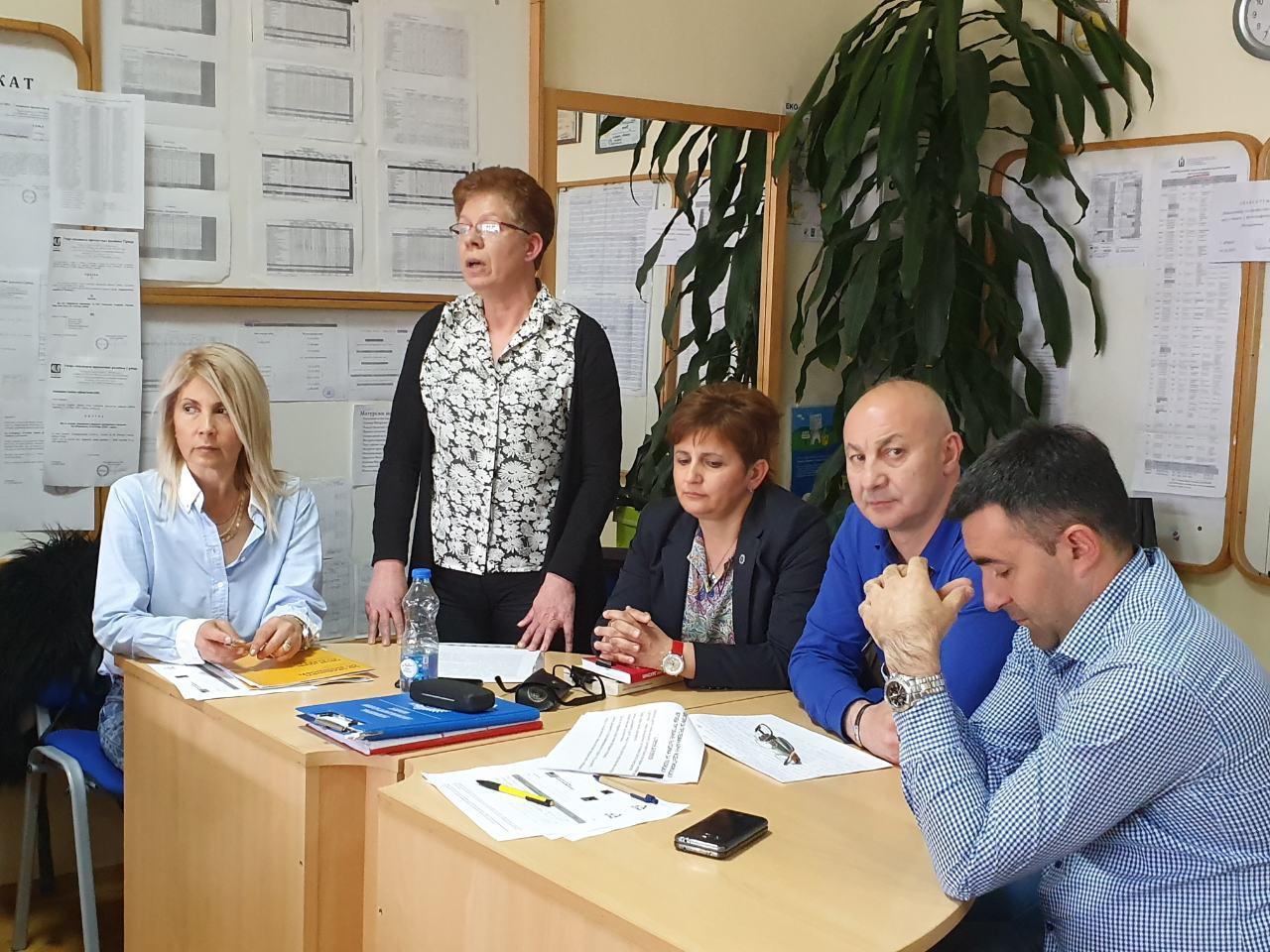 Beba Кanački, Danijela Milosavljević, Danijela Trajković, Saša Stojanović, Boban Đorđević