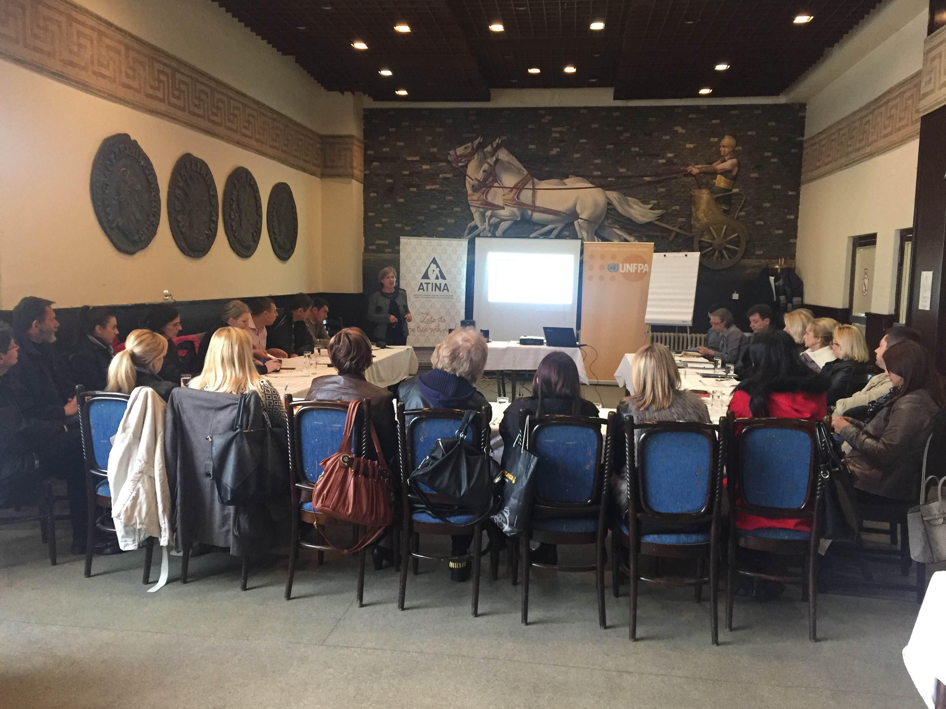 UNFPA, NVO Atina, Jačanje lokalnih odgovora na rodno zasnovano nasilje