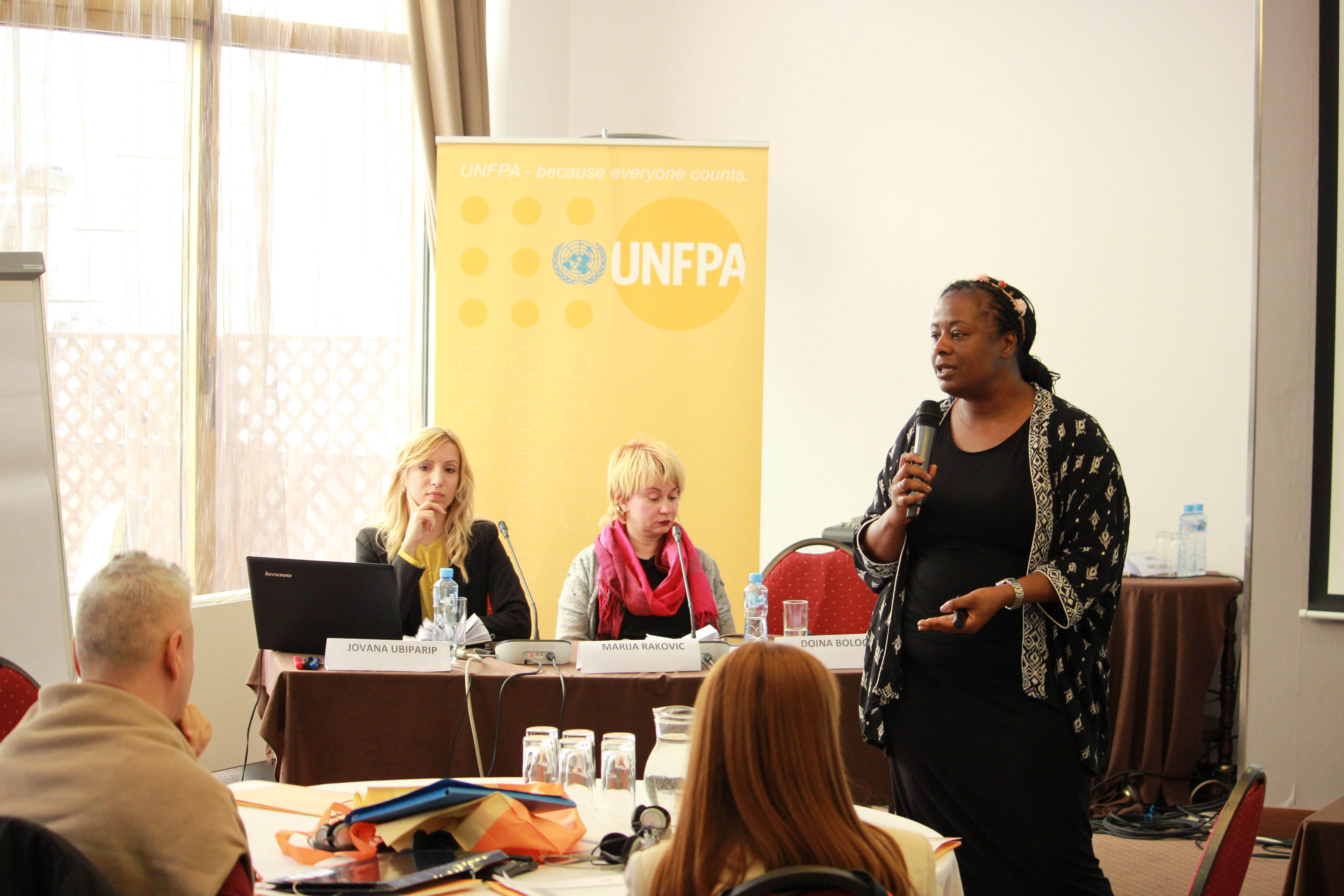 NGO Atina, UNFPA's regional initiative, Gender Based Violence, human trafficking
