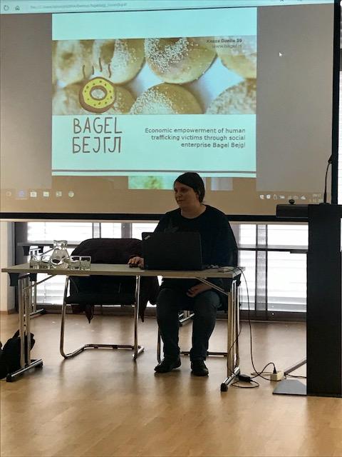 Prezentacija Bagel Bejgl na Bledu