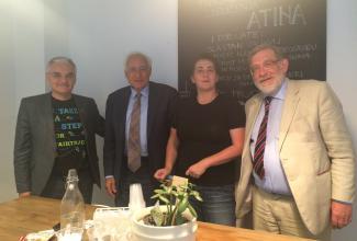 foundation human trafficking, anthohy steen, john randall, NGO Atina
